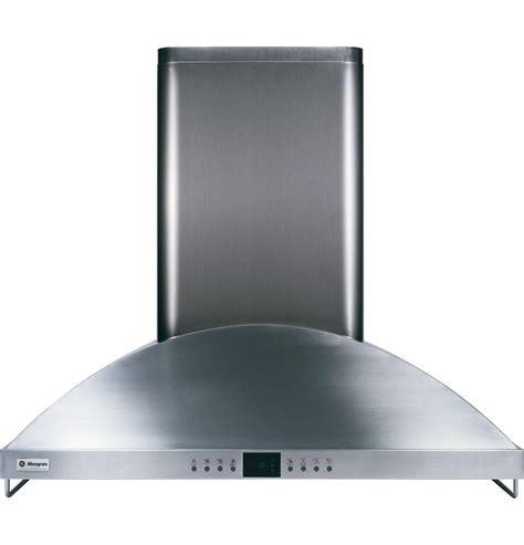 zvsdss monogram  wall mount vent hood stainless steel