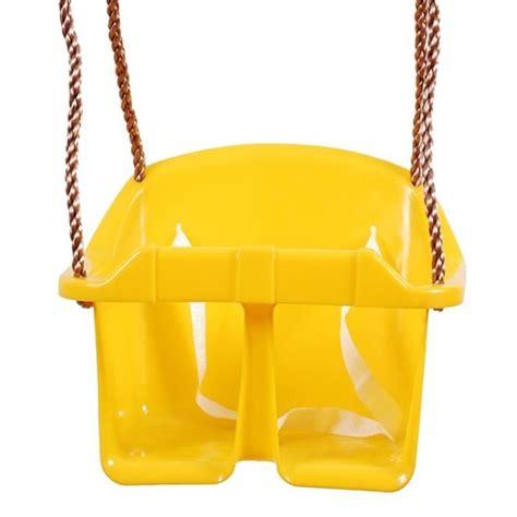 siege balancoire bebe siège balançoire bébé avec corde réglable jaune achat