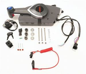 Remote Control With Emergency Lanyard For Omc Evinrude