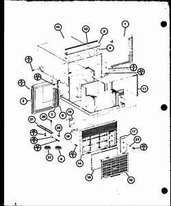 Amana Room Air Conditioner Portable Parts
