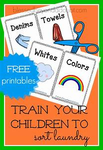 Bible History Chart Free Train Your Child To Sort Laundry Printables Free