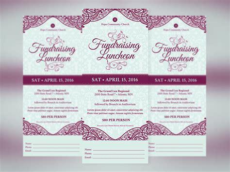 banquet ticket template mughals
