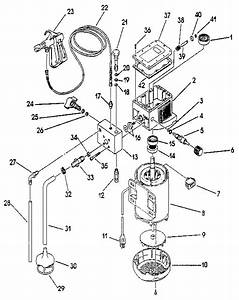 Motor Assembly Diagram  U0026 Parts List For Model Al2305