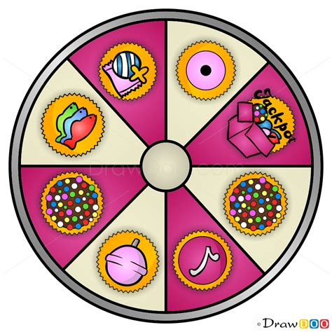 draw booster wheel candy crush