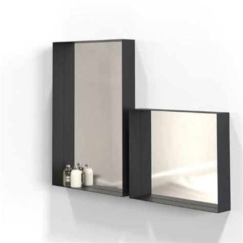 unu spiegel mit rahmen 50 schwarz a050419 001 kaufen bei woonio