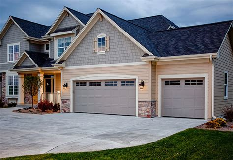 garage door styles garage door styles raised panel garage doors