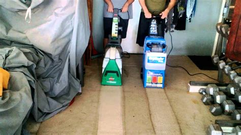 rug doctor  bissell big green deep cleaning machine