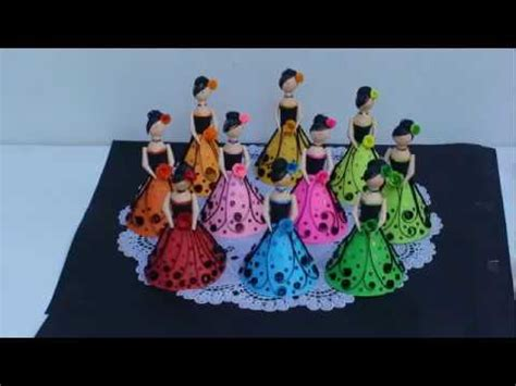 paper quilling dolls youtube