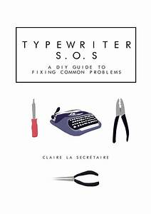 Items Similar To Typewriter Repair E