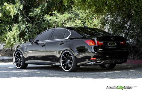 lexus rims 22 2015 lexus gs 350 22 quot lexani r twelve wheels rims