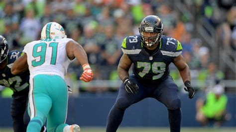 ers sign seahawks offensive lineman   year offer