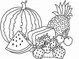 Coloring Watermelon Pages Fruit Pineapple Fruits Printable Vegetables Sheets Template Reunion Colouring Buah Adults Mewarnai Buahan Fastseoguru Nan Printing Flower sketch template