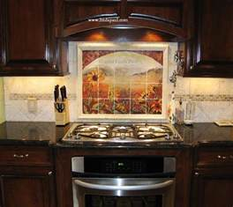 kitchen backsplashes pictures about our tumbled tile mural backsplashes and accent tiles faq
