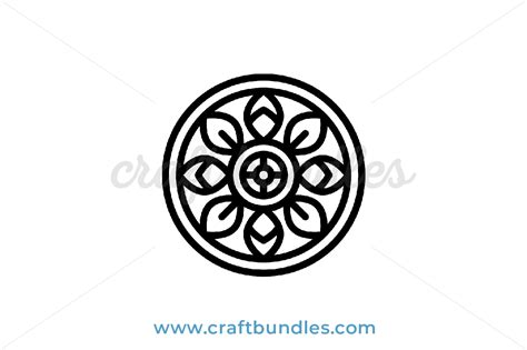 These svg images were created by modifying the images of pixabay. Intricate Mandala SVG Cut File - CraftBundles