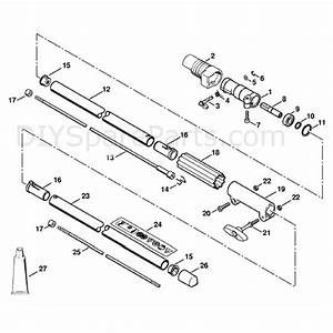 Stihl Fr 130 T Backpack Brushcutter  Fr 130 T  Parts Diagram  Drive Tube Assembly