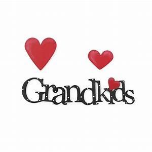 Grandkids Word Pack Magnets - Set of 3 Assorted