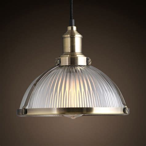 Industrial Glass Pendant Light   Thetastingroomnyc.com
