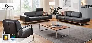 Möbel Marken Hochwertig : w schillig polsterm bel aus leder aus dem sortiment von m bel h ffner ~ Buech-reservation.com Haus und Dekorationen