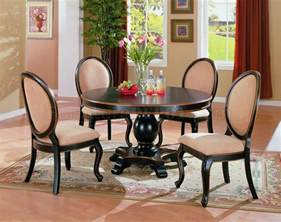dining room table set two tone dining room set with table