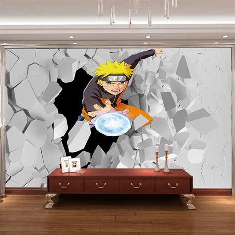 japanese anime wall mural  naruto photo wallpaper boys