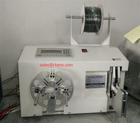 automatic wire rewinder cable bundling machinecable bundler