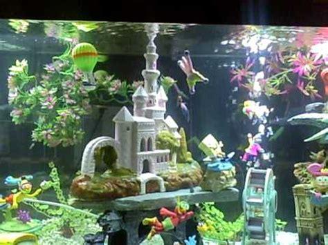 spongebob aquarium decoratie aquarium cartoon land and african frogs eating youtube