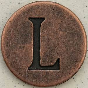copper uppercase letter l flickr photo sharing With large copper letters