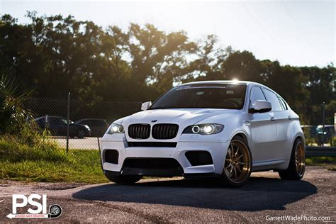 Matte White Bmw X6 M By Precision Sport Industries