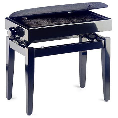 stagg 057580 banquette de piano noir piano buy online