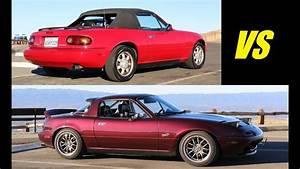 Stock 1991 Vs Modified 1995 Mazda Mx-5 Miata
