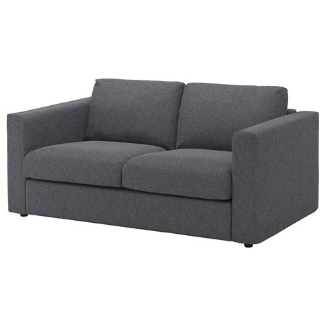 canape ikea vimle 2 seat sofa gunnared medium grey ikea
