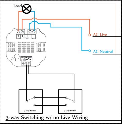 wiring diagram for 3 way dimmer switch get free image