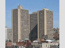 University Village, New York by I M Pei World of Buildings