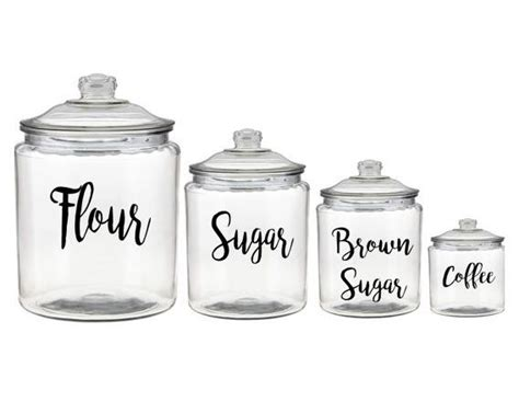 Canister Labels by Canister Labels For Pantry Organization Finds From Etsy