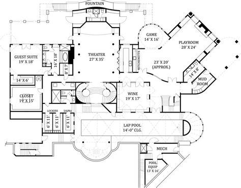 floor plans for mansions castle floor plans castle house floor plans