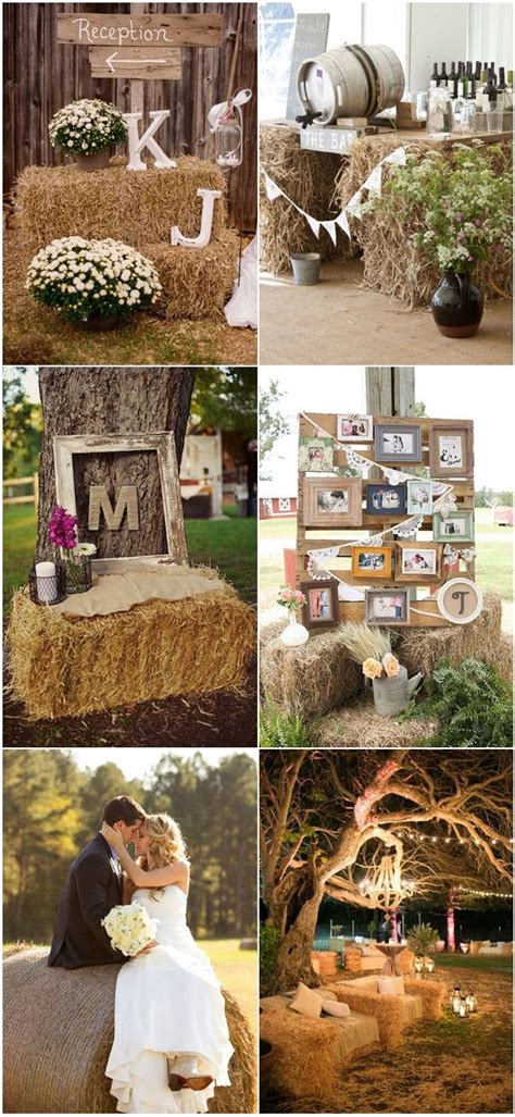 Country Backyard Wedding Ideas - best 25 hay bales ideas on straw bale seating