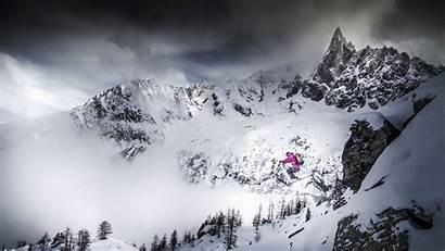 Skiing Snow 4k Mountains Wallpapers Mountain Desktop