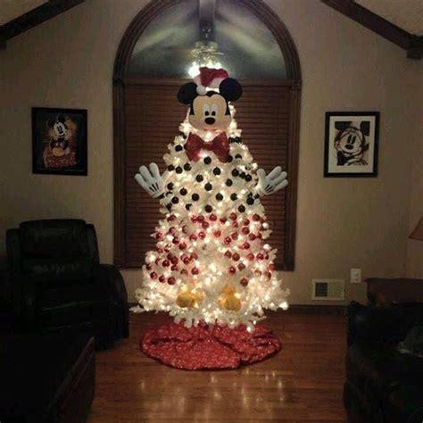 mickey mouse disney christmas tree ideas popsugar moms