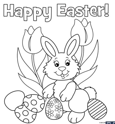 ideas  bunny coloring pages  pinterest