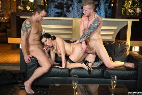 Alexis Crystal Loses Her Anal Virginity in an Orgy With ...