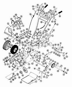 Ariens Parts On The Tractor Parts Diagram For 932006  St 504