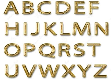gold alphabet 3d letters stock photography image 29339742 gold alphabet 3d letters stock photography image 29339742 75864