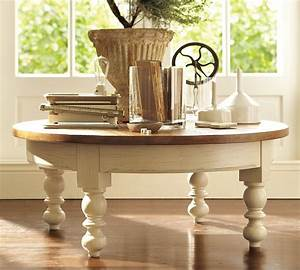 8, Cottage, Style, Round, Coffee, Tables, Pics