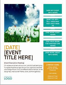 Ms word editable printable seasonal event flyer template for Word document flyer templates free