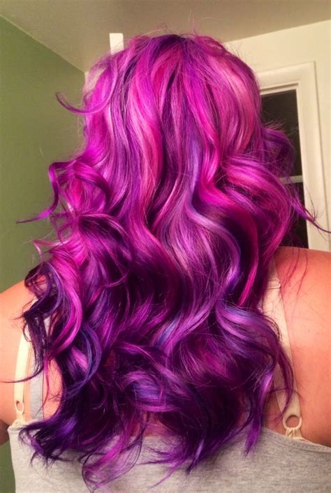How To Dye Your Hair Purple Purple Hair Ombre And Deep