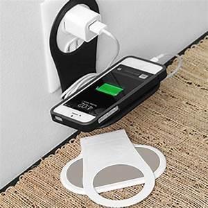 Support De Telephone : support pour chargeur de t l phone blanc ~ Melissatoandfro.com Idées de Décoration