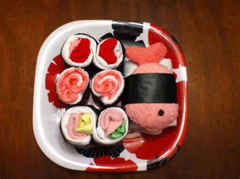 Make A Sushi Baby Shower Gift » Dollar Store Crafts