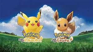 Pokemon Let39s Go Pikachu And Eevee For Nintendo Switch Don