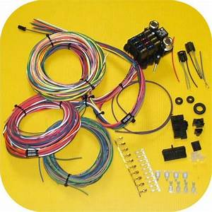 Full Wiring Harness Jeep Cj7 Cj5 Cj8 Cj6 Scrambler Willys