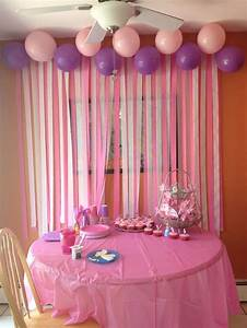 Diy birthday party decorations love the streamers on
